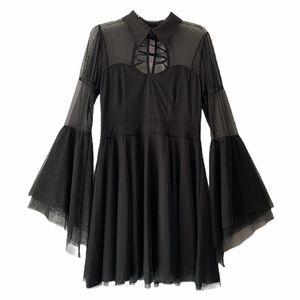 KillStar Bound by Blood Bat Collar Dress